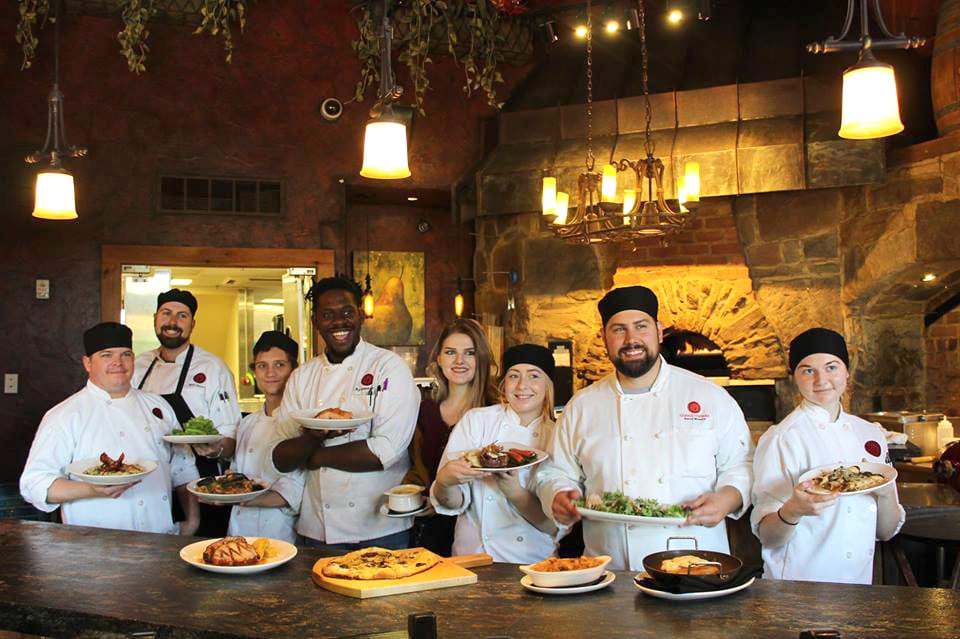 The culinary team at The Bistro