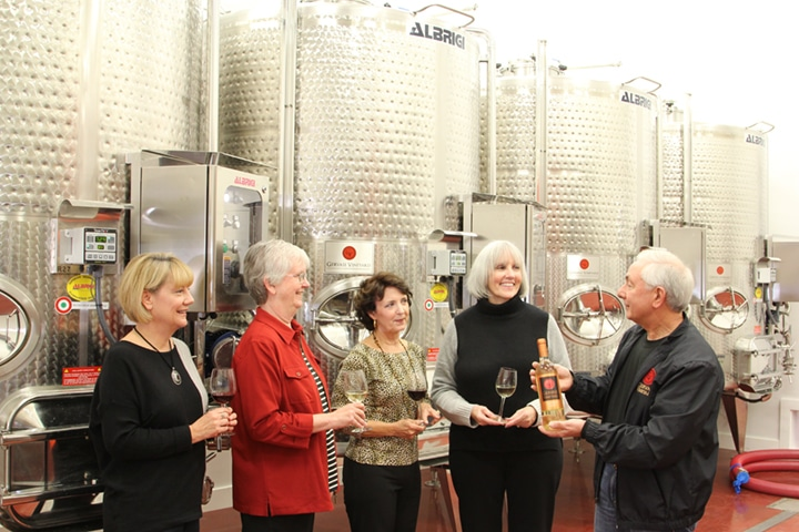 Winery tours offered at The Crush House