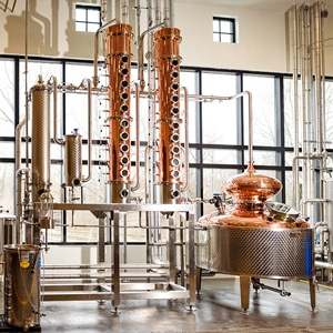 Distillery tours at The Still House