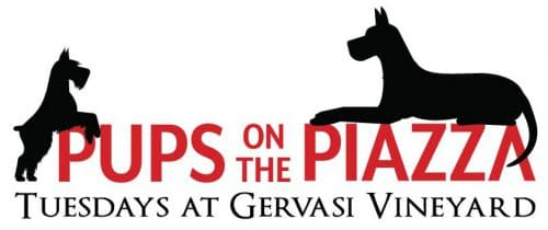 Pups on the Piazza - Tuesdays all summer long