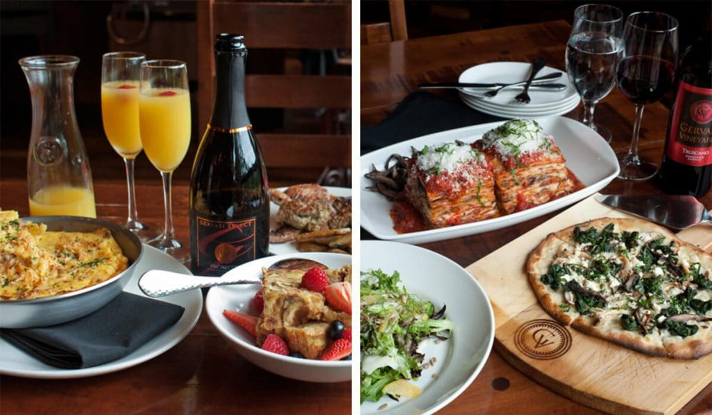 Family style breakfast and supper served every Sunday at The Bistro
