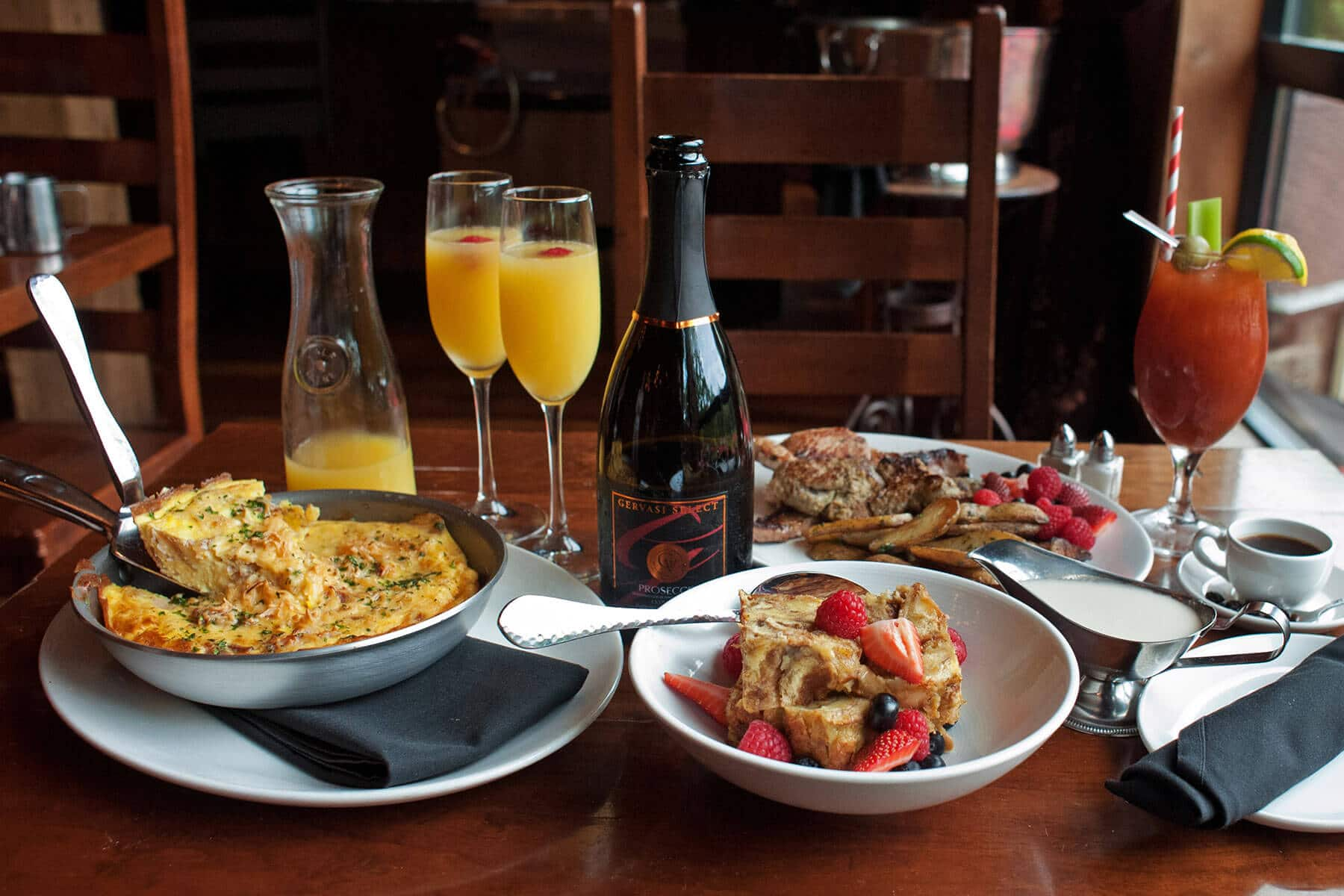 New Sunday breakfast options at The Bistro