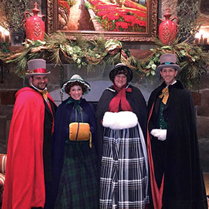 Christmas Carolers at Gervasi Vineyard