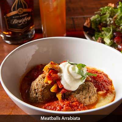 Meatballs Arrabiata