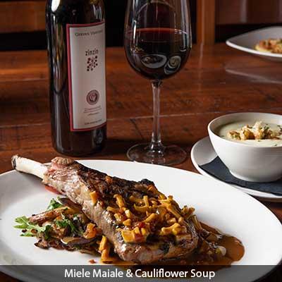 Miele Maiale and Cauliflower Soup