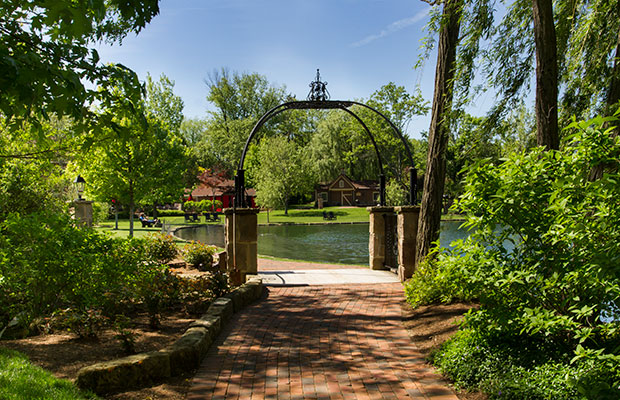Take a stroll along the serene walking paths at Gervasi Vineyard