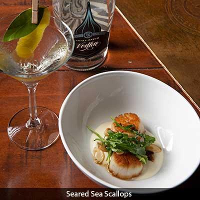 Seared Sea Scallops at The Bistro