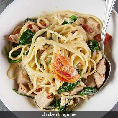 Crush House Chicken Linguini