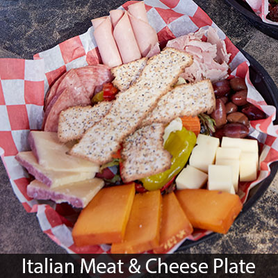 Piazza Italian Meat and Cheese Plate