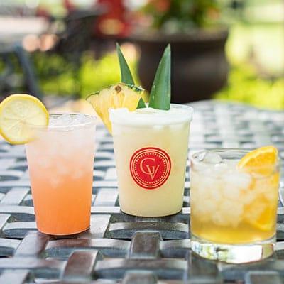 Enjoy Drinks on Our Seasonal Outdoor Piazza