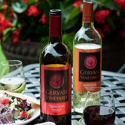 Wine on the Gervasi Piazza