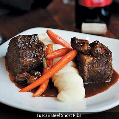Tuscan Beef Short Ribs at Gervasi's Bistro