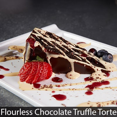 Flourless Chocolate Truffle Torte