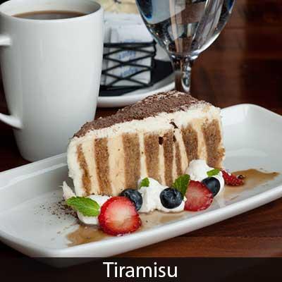 GV Bistro Tiramisu Dessert
