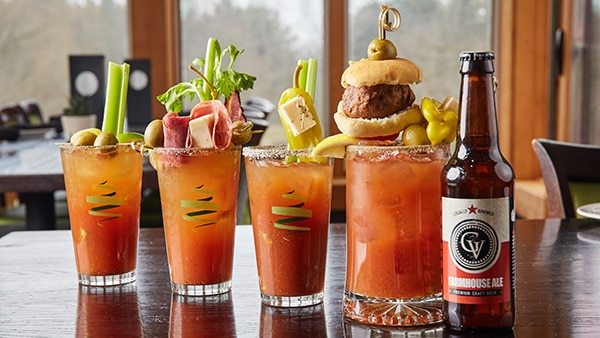 Bloody Marys at Twisted Olive