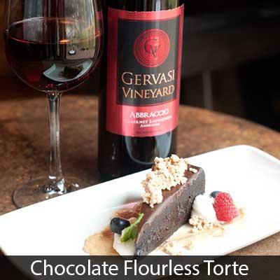 Bistro Chocolate Flourless Torte Dessert