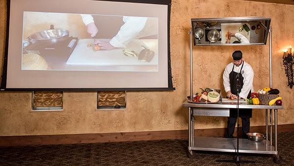 Cucina Demonstration Class