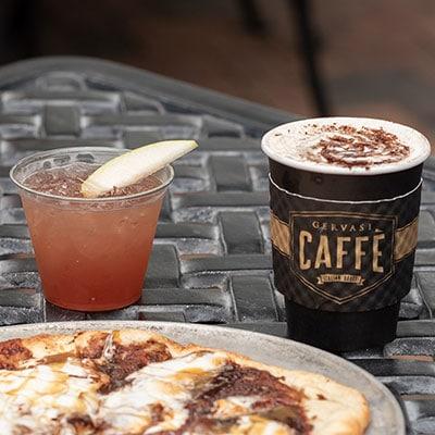Piazza Fall Drinks