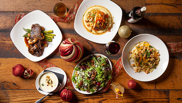 Holiday Meals at Gervasi VIneyard