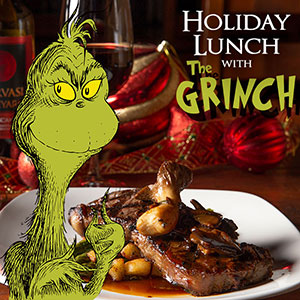 Holiday Lunch with The Grinch
