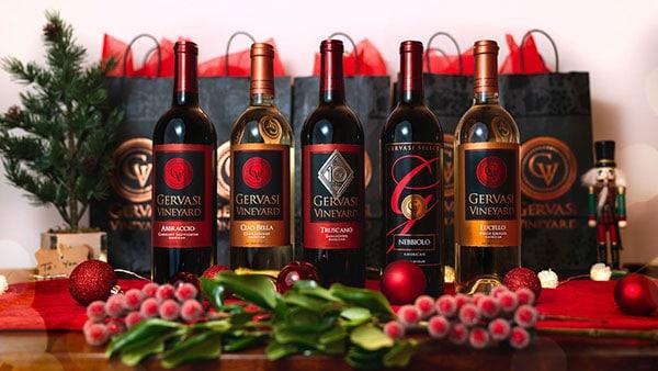 Wine at Gervasi Vineyard