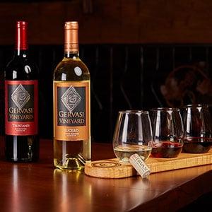 Wine Pairing at Gervasi Vineyard