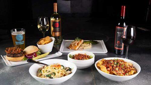 Crush House Food and Wine Pairings