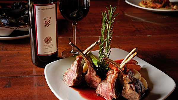 Gervasi Food and Wine Pairings