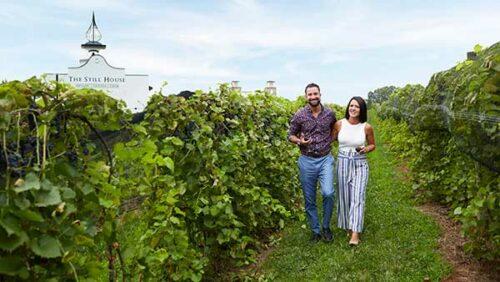 Couple at Gervasi Vineyard