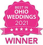 Best in Ohio Weddings 2021 - Winner