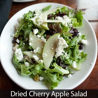 Dried Cherry Apple Salad Gervasi Vineyard