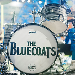The Bluecoats on The Piazza