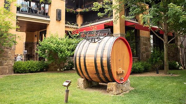 Gervasi Vineyard Photo Opportunities Crush House Barrell