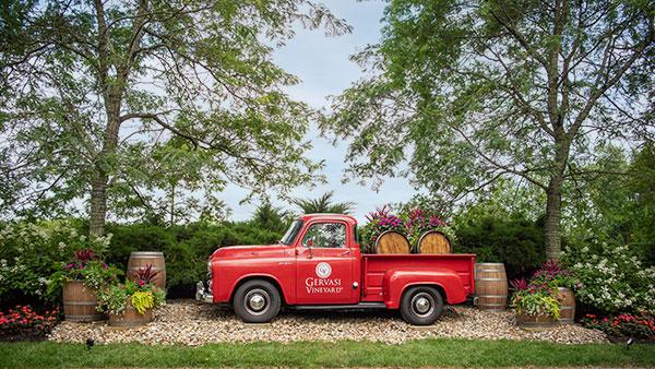 Gervasi Vineyard Photo Opportunities Vineyard Truck